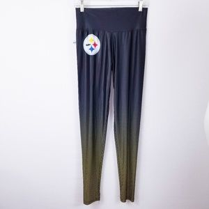 ab8cc38a0ed41 NFL · Steelers NFL Team Womens Athletic Leggings Large. NWT